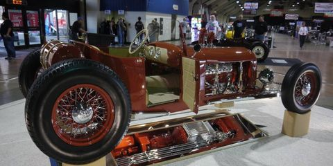 The annual Grand National Roadster Show opens today at the Fairplex in Pomona.