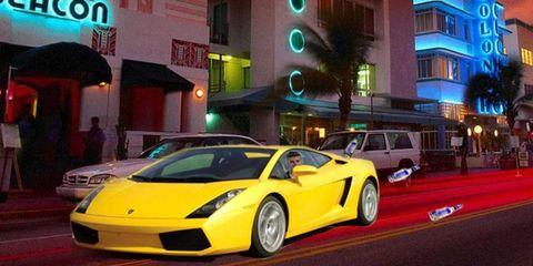 Justin Bieber was arrested driving a Lamborghini Gallardo.