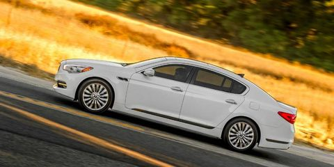 Kia boldly goes where it has never gone before: the mid-luxury segment.
