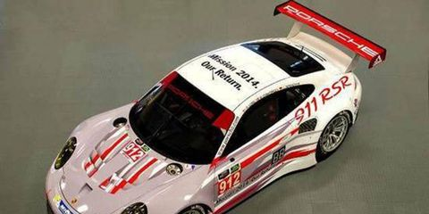 Porsche will have a heavy presence at the Rolex 24 at Daytona and other United SportsCar Championship events.