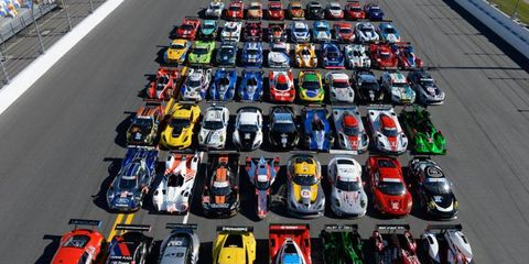 Fans will definitely need a program to follow this year's Rolex 24 at Daytona as the race will be the first following the merger of the Grand-Am Series and the American Le Mans Series.