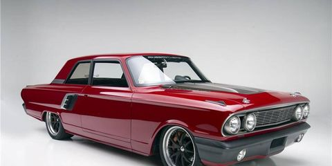 This custom Ford Fairlane, dubbed Afterburner, ended up selling for $225,000.