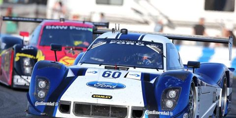 IndyCar Series driver Justin Wilson was a co-driver for the third-place finisher at the Rolex 24 at Daytona in 2013.