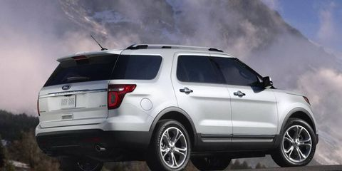The Ford Explorer and E-series vans are being recalled.