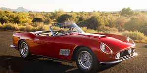 The top sale, perhaps inevitably, was this 1958 Ferrari 250 GT California LWB Spyder that brought $8.8 million at RM Auctions.