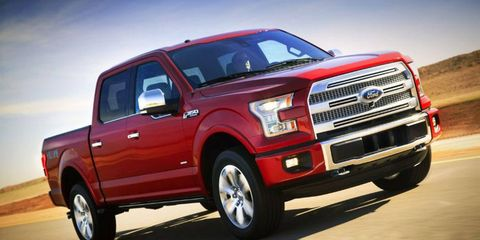 The 2015 Ford F-150 may cost more to repair with its use of aluminum.