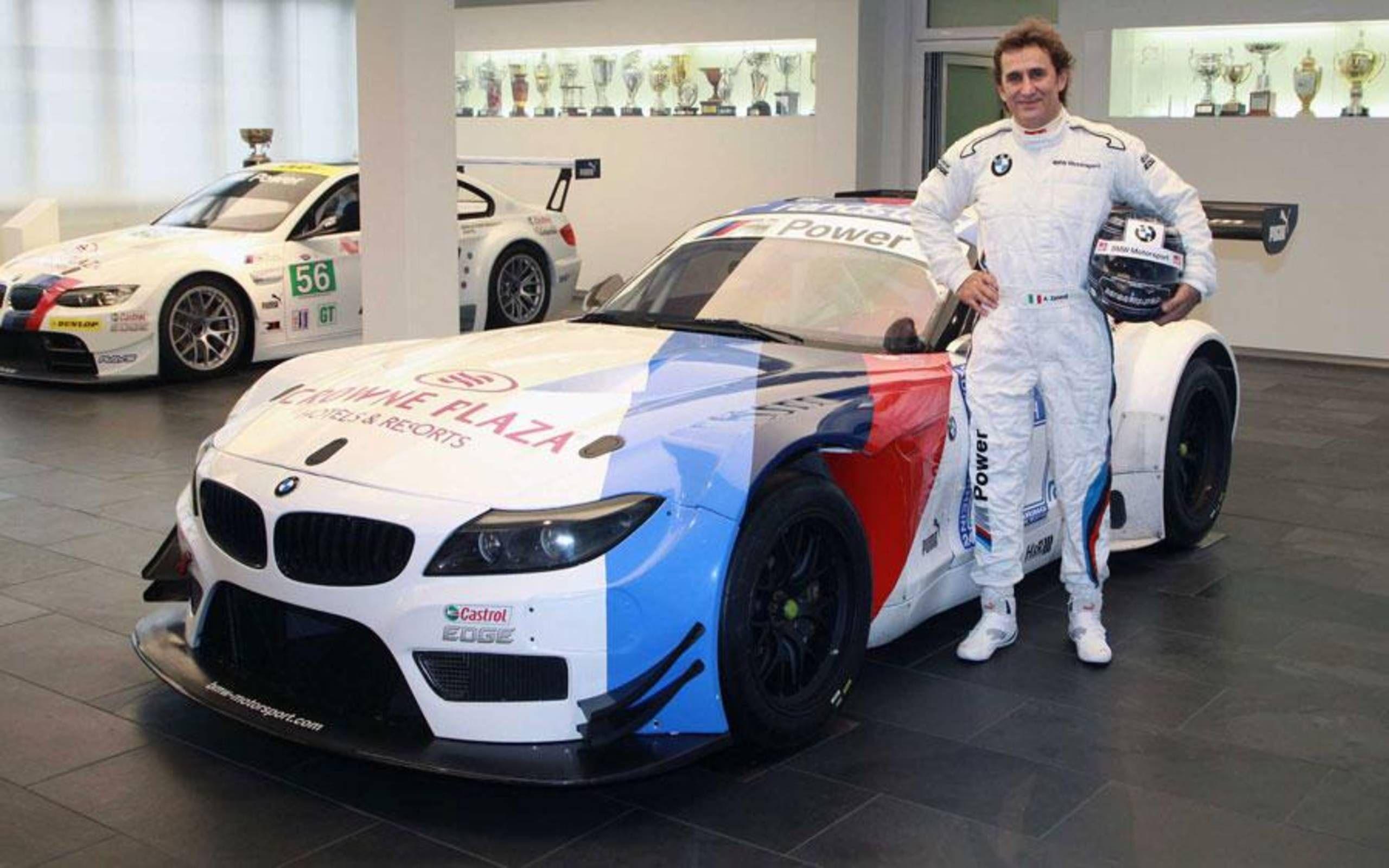 Alex Zanardi to get full-time ride in the 2014 Blancpain Sprint Series