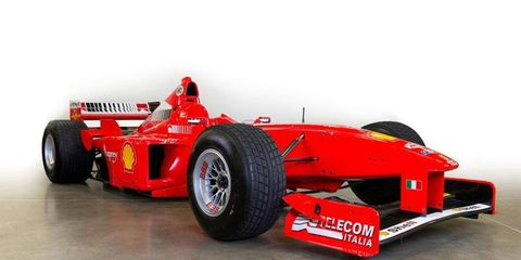 This car was driven by Schumacher in the 1998 season no less than 38 times.