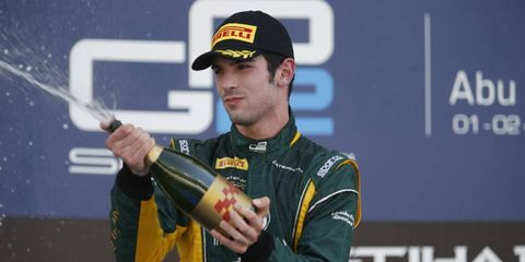 Alexander Rossi spent plenty of time on the GP2 podium during the 2013 season.