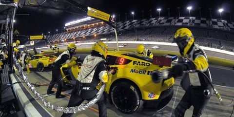Tommy Milner, along with drivers Oliver Gavin and Robin Liddell, did well in the Rolex 24, right up until the last few hours, when their car had a gearbox issue.