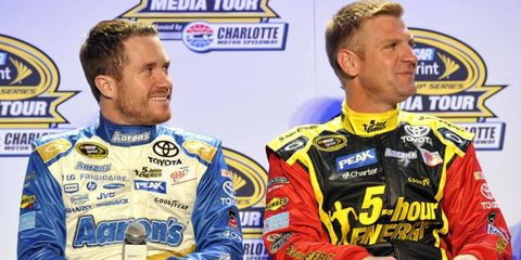 Brian Vickers and Clint Bowyer will both run full-time schedules for Michael Waltrip Racing in 2014.