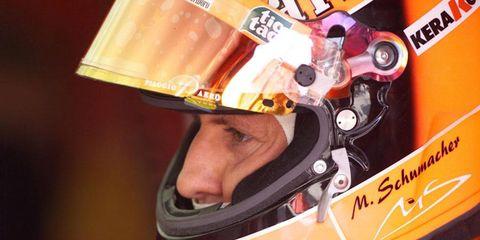 Michael Schumacher from the 2001 Hungarian Grand Prix.