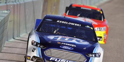 Under the new system Brad Keselowski would have made the NASCAR Chase for the Sprint Cup last season.