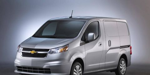 The Chevrolet City Express compact van is set to compete with the Ford Transit Connect for small commercial transportation.