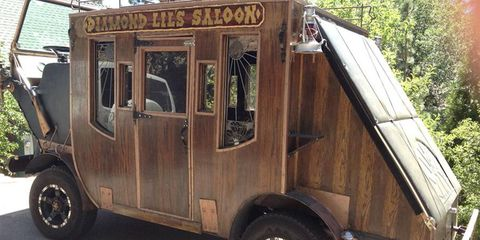 Diamond Lil's Saloon is open for business.