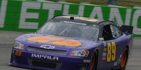 Morgan Shepherd also ran in this Nationwide Series race last season in Iowa.