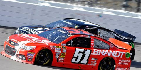 Justin Allgaier will drive the No. 51 car for HScott Motorsports during the 2014 NASCAR Sprint Cup Series season.