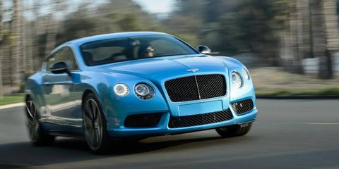A faster, tauter 2014 Bentley Continental GT V8 S for 2014.