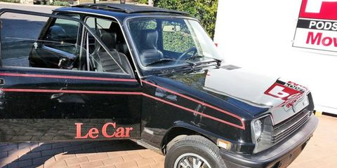 This 1978 Renault Le Car Black Beauty could be the LePerfect LeClassic for you.