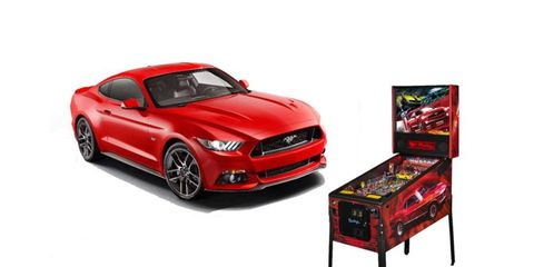 The Mustang pinball machine is a  new wave of pop culture integration into the hot-rod scene.