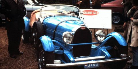 Brooks Stevens and Guy Storr designed the Excalibur 35X in 1967.