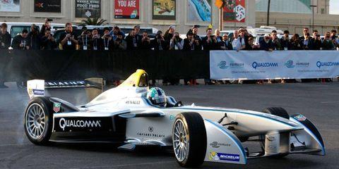 Formula E showed its stuff in Las Vegas in January.