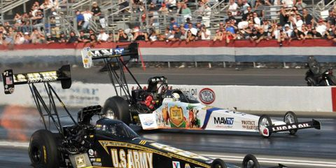 Some don't think TV translates the power and speed of nitro race cars to the at-home and casual viewers.