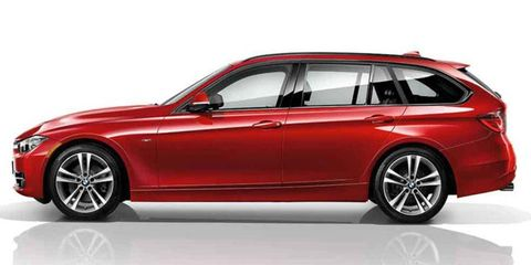 The 2014 BMW 328i xDrive Sports Wagon offers space and sportiness combined.