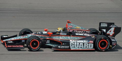Rahal Letterman Lanigan Racing is expected to land the National Guard sponsorship for the 2014 IndyCar Series.