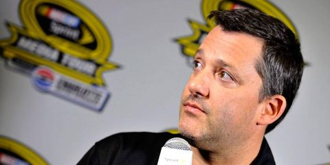 Tony Stewart will get back in a stock car on Friday night to practice for the Sprint Unlimited.