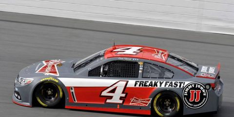 Kevin Harvick has been testing out his new ride with Stewart-Haas Racing since December.