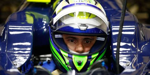 Felipe Massa is wearing new colors in 2014 after eight years of wearing the red of Ferrari in Formula One.