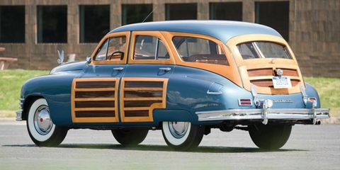 This well restored Station Sedan is one of the very last few built.