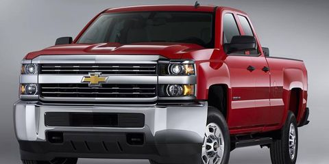 A CNG bi-fuel option is coming to Silverado 2500HD and 3500HD trucks.