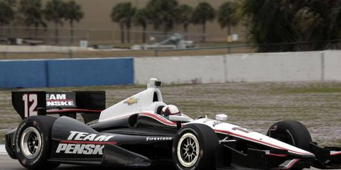 Juan Pablo Motoya is back in the IndyCar Series after a run in the NASCAR Sprint Cup Series.