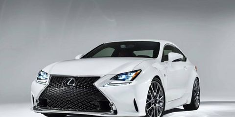 The RC 350 F Sport joins forces with the 350 and F at Geneva motor show