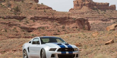 """The """"Need for Speed"""" Mustang is set to be auctioned off at Barrett-Jackson to benefit the Henry Ford Health System."""