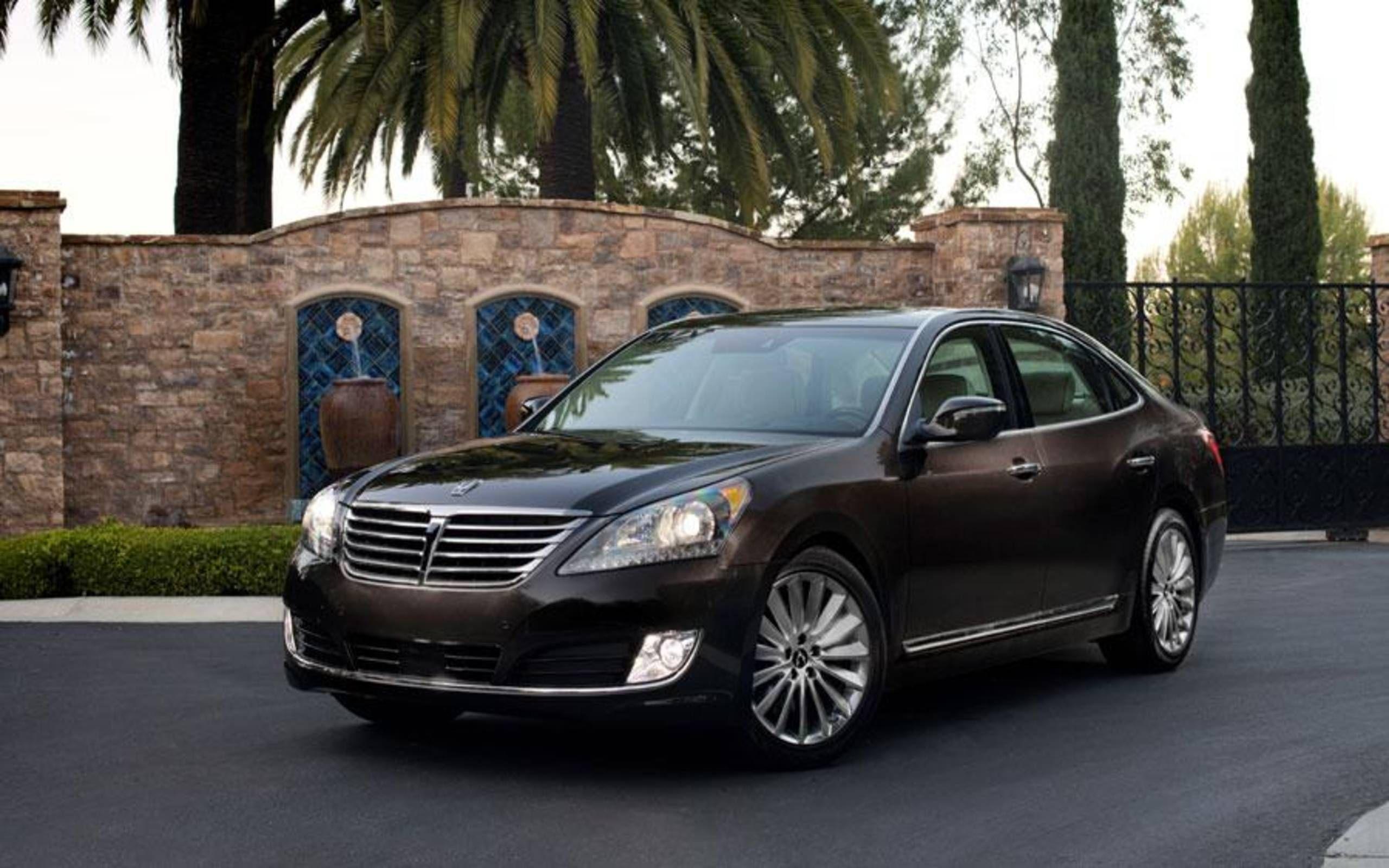 5 Hyundai Equus Ultimate review notes