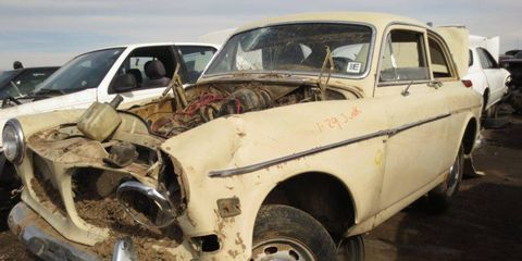 When the rivers overflowed last fall in Colorado, they swept away this long-lived Volvo coupe.