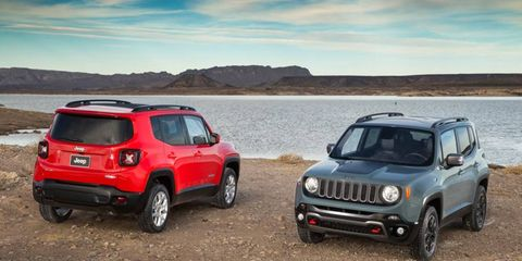 The Jeep Renegade, long rumored to be called the Jeepster or Laredo, arrived officially at the Geneva auto show.