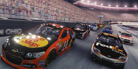 'NASCAR '14' features all of the teams, drivers and tracks a player could ask for.