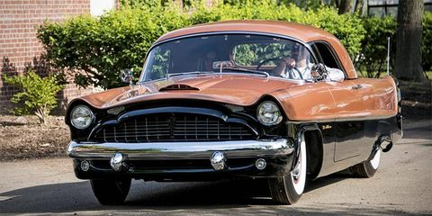 The 1954 Packard Panther took Best in Show at Amelia Island Concours in 2012.