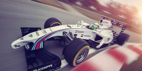 Williams Martini Racing unveiled the new livery for the FW36.