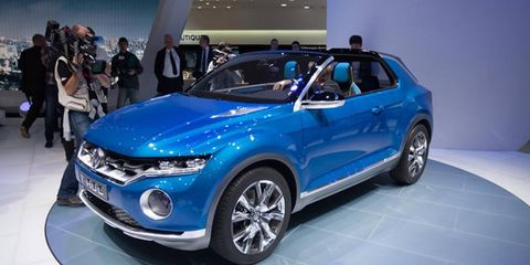 The T-ROC may be given the green light soon, to battle the Mercedes-Benz GLA.