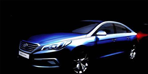 Hyundai will introduce the next Sonata in Korea.