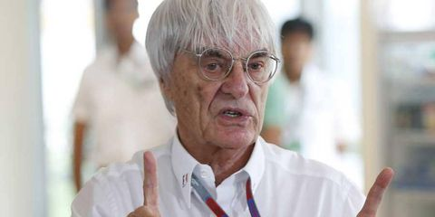 Bernie Ecclestone is suggesting that the bribery affair is preventing him from fully committing to F1 duties.