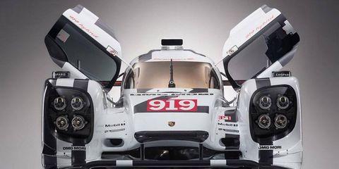 The Porsche 919 Hybrid was revealed today in Geneva.