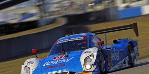 Chip Ganassi Racing's No. 01 Riley-Ford, with Marino Franchitti, Scott Pruett and Memo Rojas, won the 12 Hours of Sebring.
