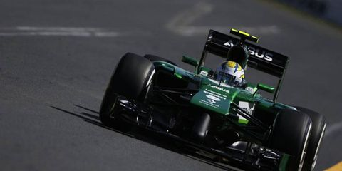 Despite being one of the only Formula One teams to have a decent testing season, Caterham was awful during practice for the Australian GP.