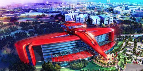 Ferrari plans to open a new theme park near Barcelona, Spain.